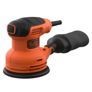 BLACK+DECKER 230W Corded Random Orbital Sander with Sanding Sheet (BEW210-GB)
