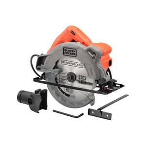 BLACK+DECKER 1250W Corded Circular Saw with Blade (CS1250L-GB)