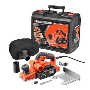 BLACK+DECKER 750W Corded Rebating Planer (KW750K-GB)