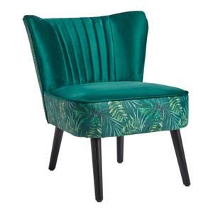 Jessica Jungle Print Occasional Chair - Green
