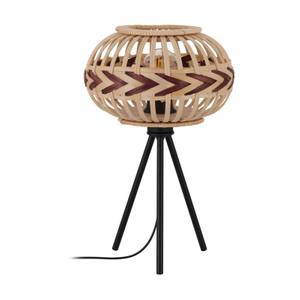 EGLO Dondarrion Decorative Natural Wood Table Lamp
