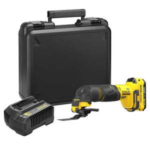 STANLEY FATMAX V20 18V Cordless Multi-Purpose Tool with Kit Box  (SFMCE500D1K-GB)