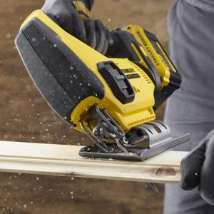 STANLEY FATMAX V20 18V Cordless Jigsaw with Blade and Kit Box (SFMCS600D1K-GB)