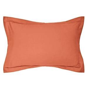 Helena Springfield Copenhagen Plain Dye Pillowcase Oxford - Coral