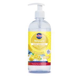 Nilpure Hand Sanitiser Sherbet Lemon 500ml