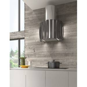 Inox Kudos Wall Mounted Extractor Stainless Steel - Grey
