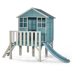 Plum Boat House Wooden Playhouse - Teal