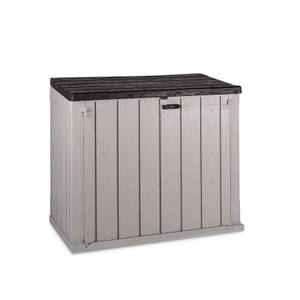 Toomax Stora Way XL 1270L Garden Storage Box in Taupe Grey