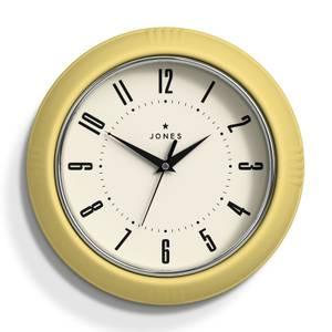 Jones Ketchup Wall Clock - Lemon