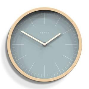 Jones University Wall Clock - Faux Plywood