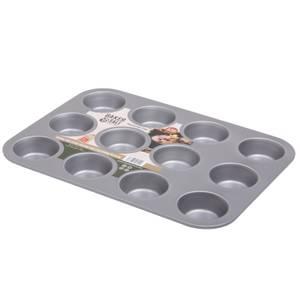 12 Cup Muffin Tin 0.6 Gauge