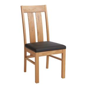 Turin Slatted Dining Chairs - Set of 2