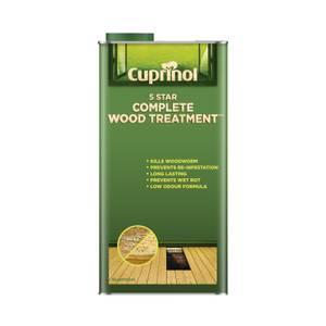 Cuprinol 5 Star Wood Treatment - 5L