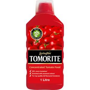 Levington Tomorite Concentrated Tomato Plant Food With Seaweed Extract - 1L