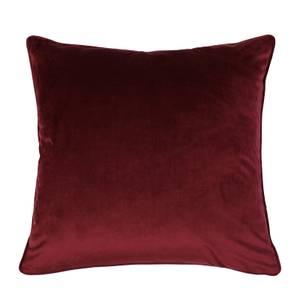 Velvet Cushion - Claret