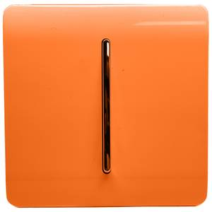 Trendi Switch 1 Gang 2 Way 10Amp Light Switch in Orange