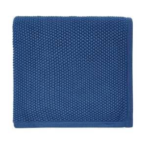 Helena Springfield Copenhagen Tilde Knitted Throw - 130x150cm - Blue