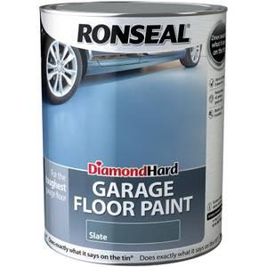 Ronseal Diamond Hard Slate - Garage Floor Paint - 5L