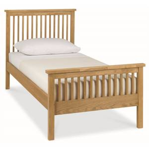 Atlanta Single Bed Frame - Oak