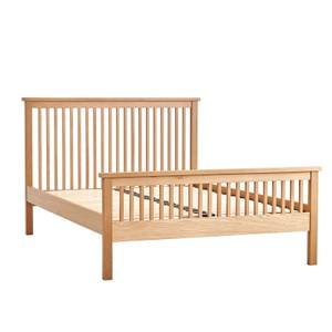 Atlanta Double Bed Frame - Oak