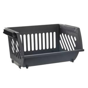 Multi Functional Stacking Basket - Black