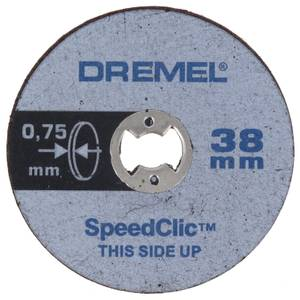 Dremel SpeedClic Thin Cutting Wheels (5pc)