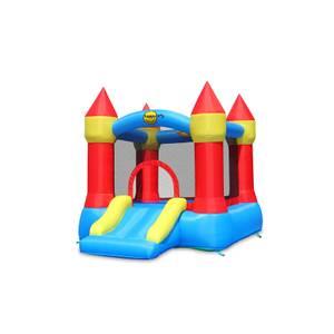 Happy Hop Bouncy Castle With Slide And Hoop