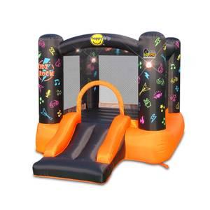 Happy Hop Kidz Rock Hit Me Bouncy Castle with Slide