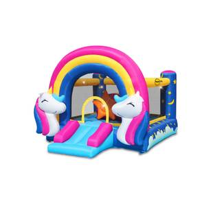 Happy Hop Unicorn Hit Me Bouncer / Bouncy Castle