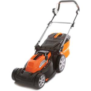 Yard Force 40V 37cm Cordless Lawnmower with 2.5AH Lithium-ion Battery & Quick Charger