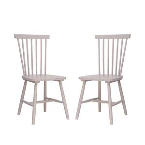 Laura Spindle Back Chair - Set of 2 - Lilac