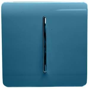 Trendi Switch 1 Gang 2 Way 10Amp Light Switch in Ocean Blue
