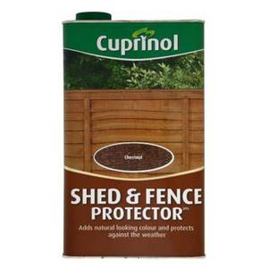 Cuprinol Shed and Fence Protector - Chestnut - 5L