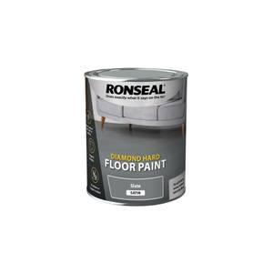 Ronseal Diamond Hard Slate - Floor Paint - 750ml