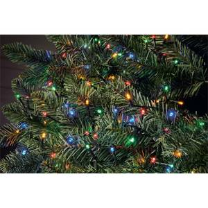 300 LED Timer String Christmas Tree Lights Multicoloured (Battery Operated)