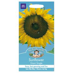 Mr. Fothergill's Sunflower Giant Single Seeds