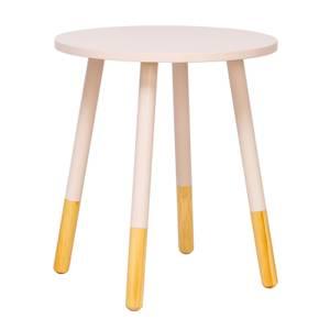 Lino Pastel Table - Coral