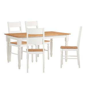 Laura 4 Seater Dining Set - Ladder Back Chairs
