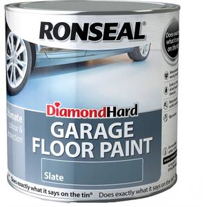 Ronseal Diamond Hard Slate - Garage Floor Paint - 2.5L