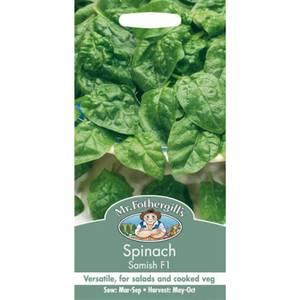 Spinach Samish F1 (Spinacia Oleracea) Seeds