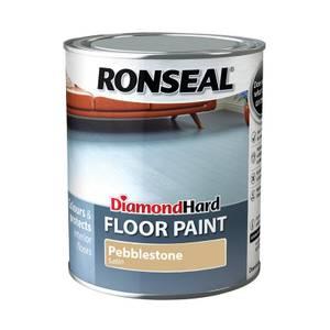 Ronseal Diamond Hard Pebble Stone - Floor Paint - 750ml