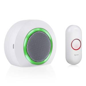 Byron 23521 175m Portable Wireless Doorbell set