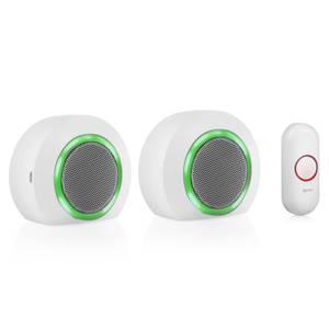 Byron 23524UK 175m Twin Port/Plug-in Wireless Doorbell set