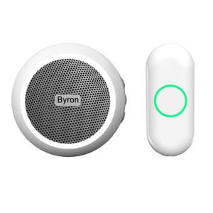 Byron 23532UK 175m Recordable Plug-in Wireless Doorbell set