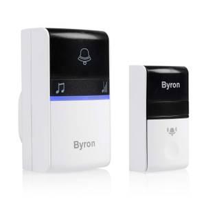 Byron 23415UK 100m Plug-in Wireless Kinetic Doorbell set
