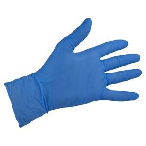 Blue Vinyl Gloves - Medium - 10 Pack