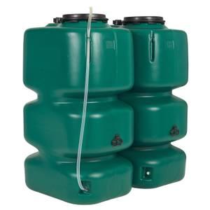 Garantia Garden Tank-Set - 2000L - Green
