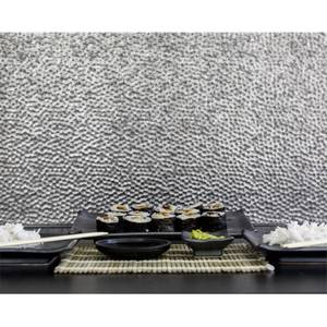 Innovera Decor 3D Design Wall Tile - Kitchen Splashback Cladding Panels ( Lamina - Silver, set of 6)