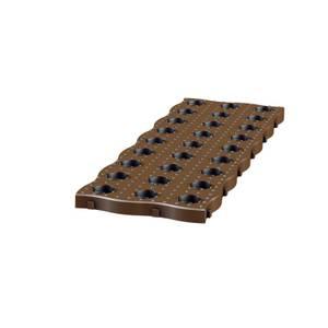 Garantia Maxi Garden Board 4 Per Set Dark Brown