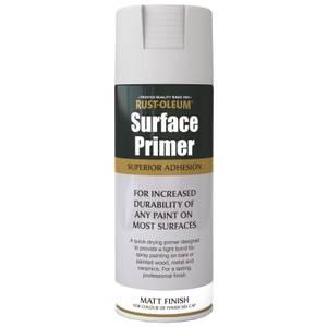 Rust-Oleum Surface Primer Spray Paint - Grey - 400ml